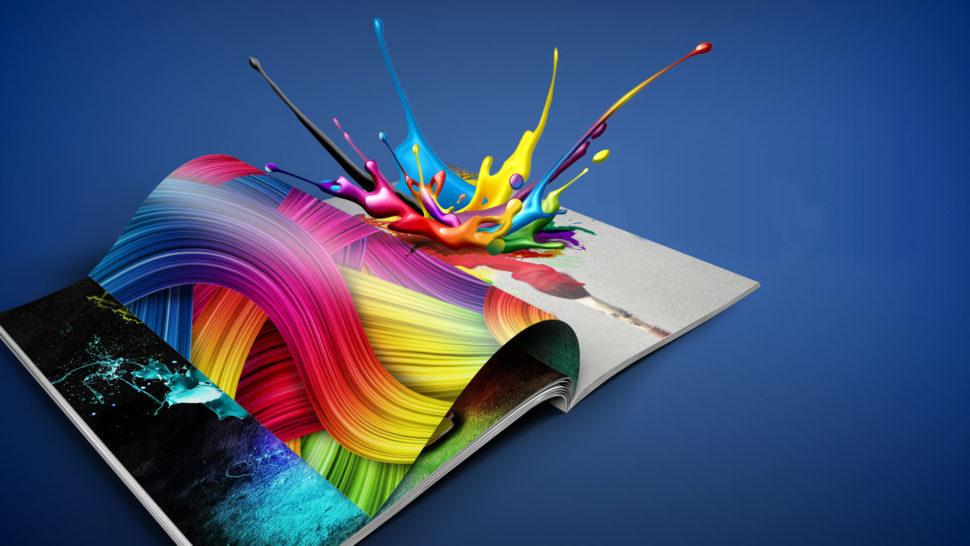 Tisk uměleckých katalogů naspeciální papír adalší kreativity