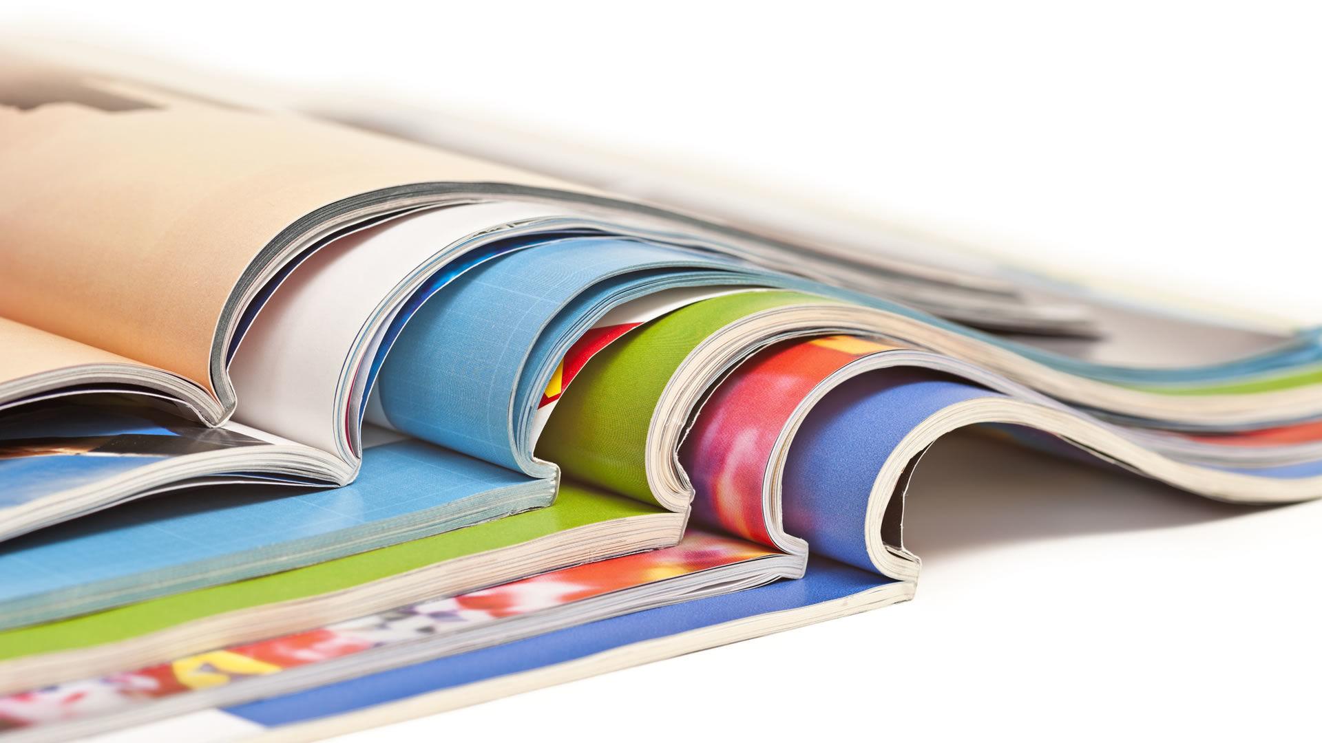 Tisk časopisů, katalogů aročenek