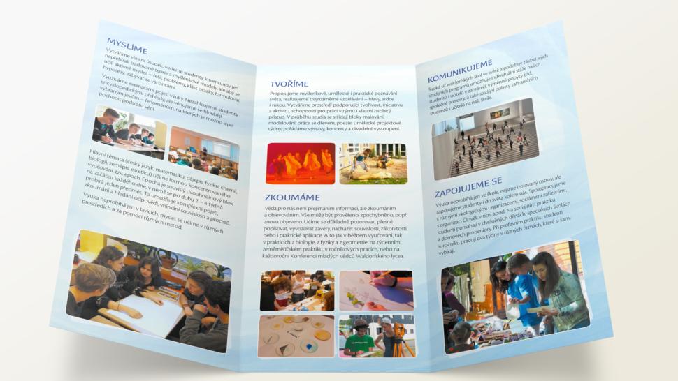 Tisk reklamních ainformačních brožur