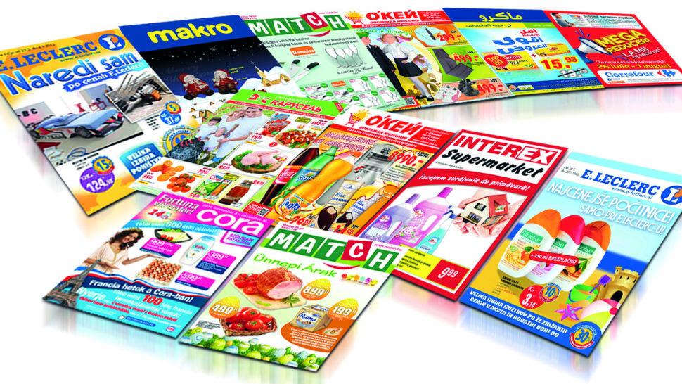 Tisk reklamních brožurek, prospektů aceníků